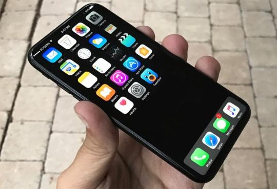 Layar iPhone 8